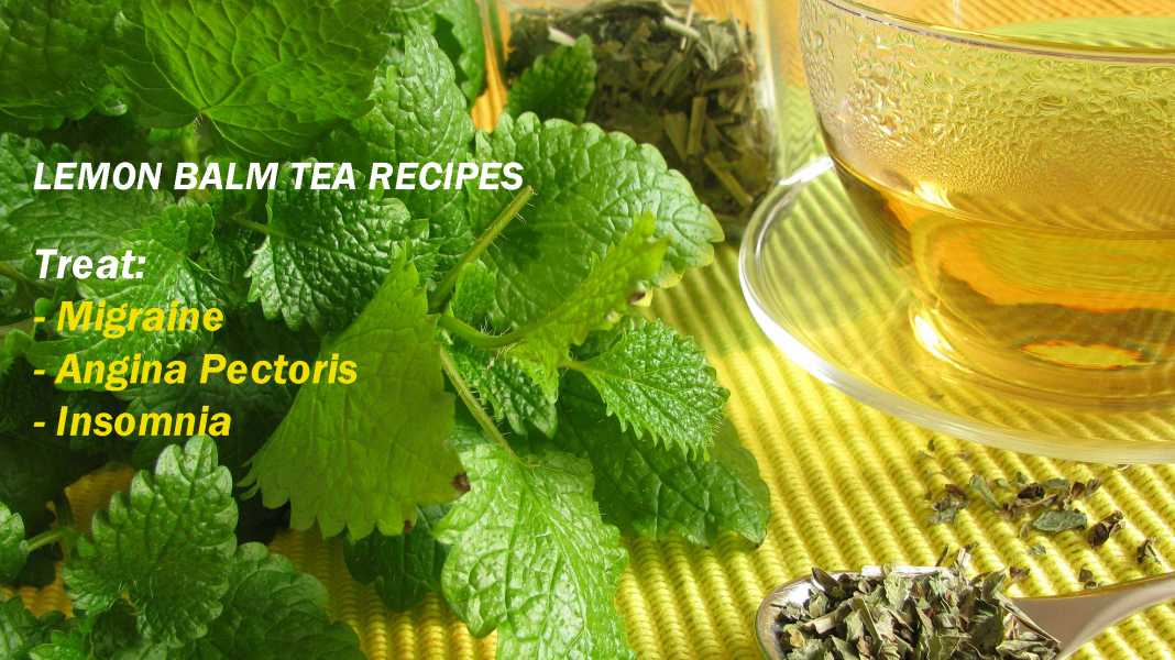 Treat migraine with lemon balm tea
